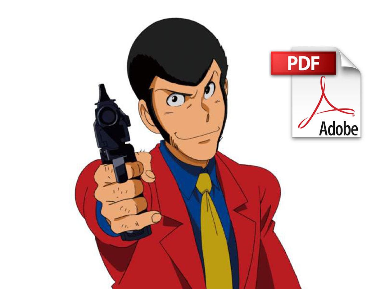 Lupin IIII – Spartito Per Pianoforte