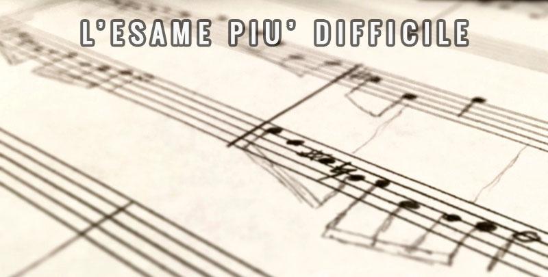 Qual è L'esame Più Difficile In Conservatorio?