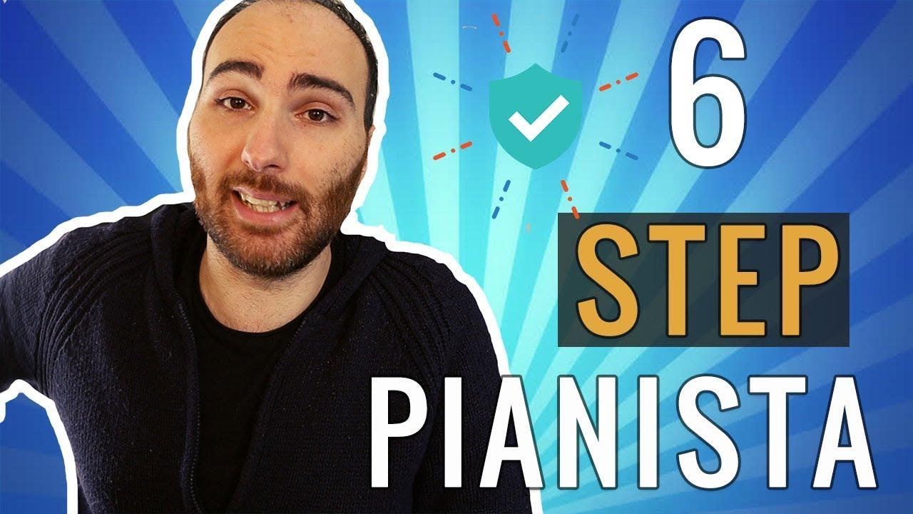 6 Passi Per Diventare Un Pianista Professionista